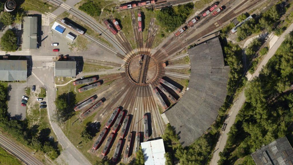 Deutsche Bahn – ortofotomapy