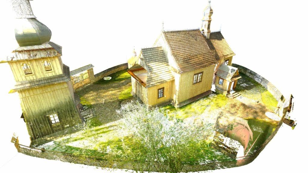 Model IFC zabytkowego kościoła