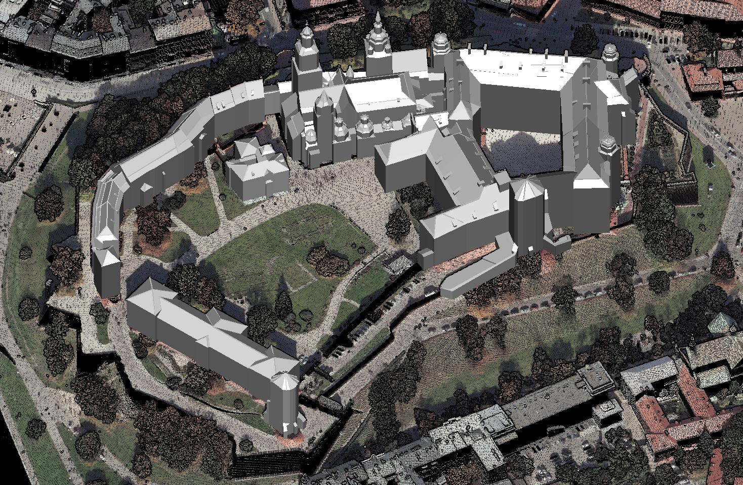 Budowa modeli 3D budynków